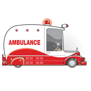 sia - retro ambulance