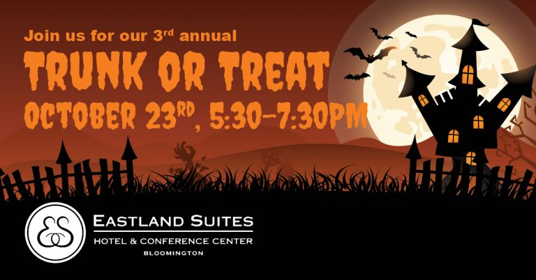 Eastland Suites Trunk or Treat Event, Bloomington, IL