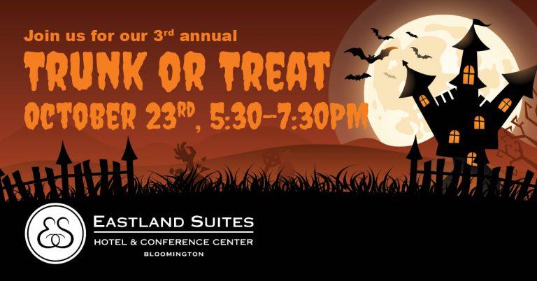 Eastland Suites Trunk or Treat Event, Bloomington, IL